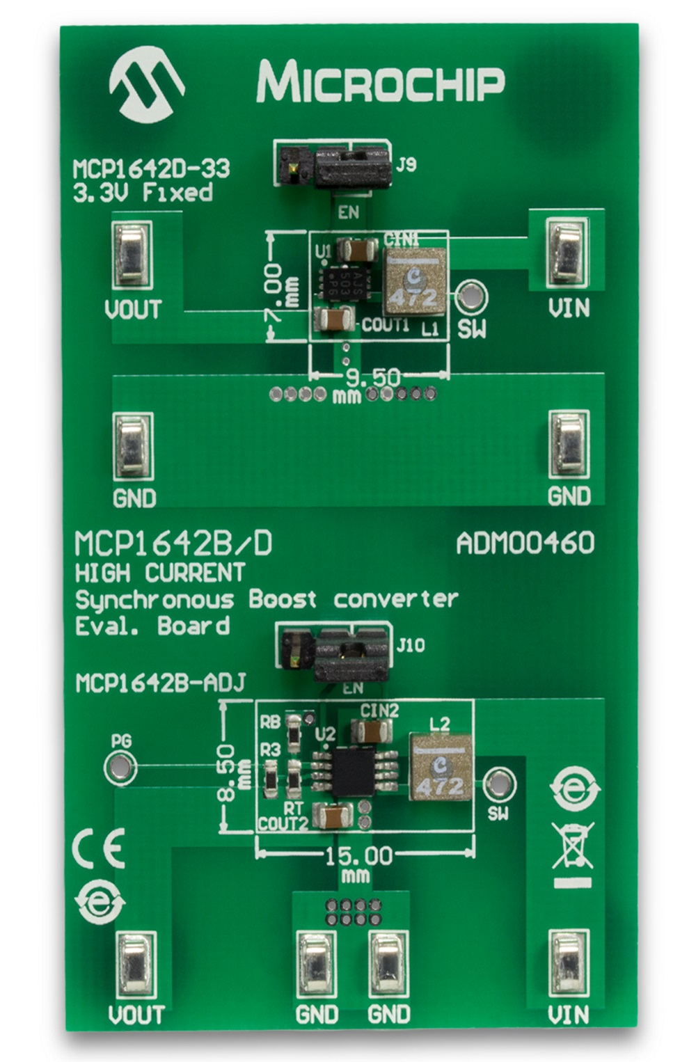 MCP1642 High Current Boost Converter