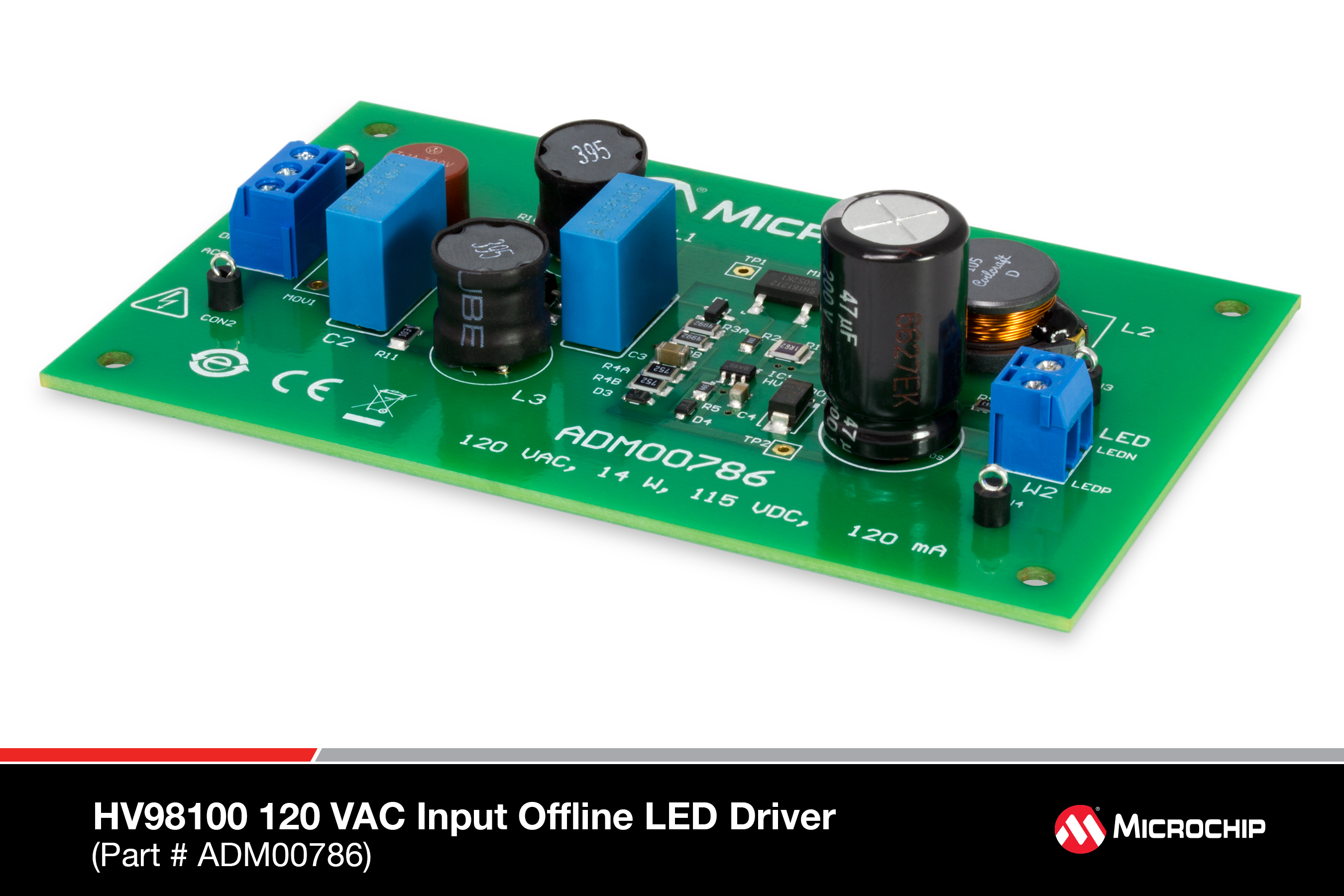 Development Tools Input Voltage Range High Power Led Driver Circuit Schematic Diagram The Hv98101 230vac Off Line Evaluation Board Is Designed To Demonstrate Performance Of Microchip Technology Incs Ic
