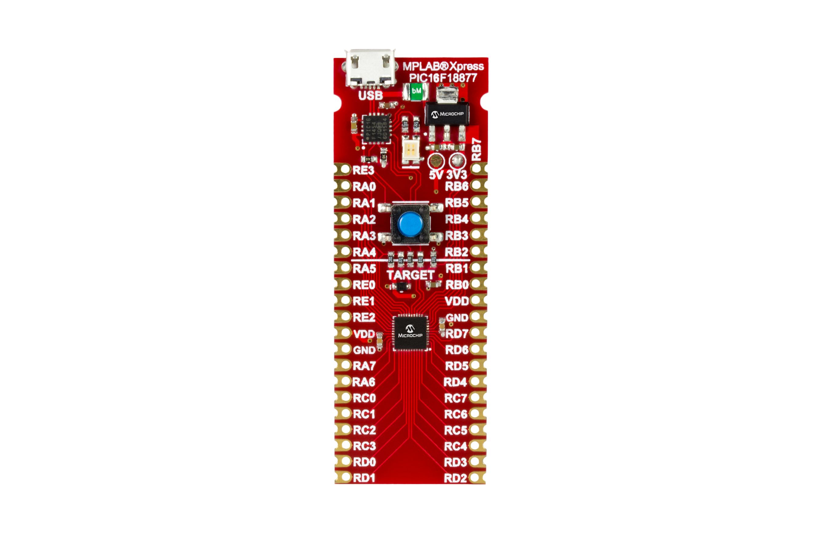 Development Tools Rc Servo Controller Circuit Using Pic18f252 This Mplab Xpress Board Makes Use Of The Pic16f18877 Mcu Coming From A Product Family That Showcases 10 Bit Adc With Computation Adc2 For Automated