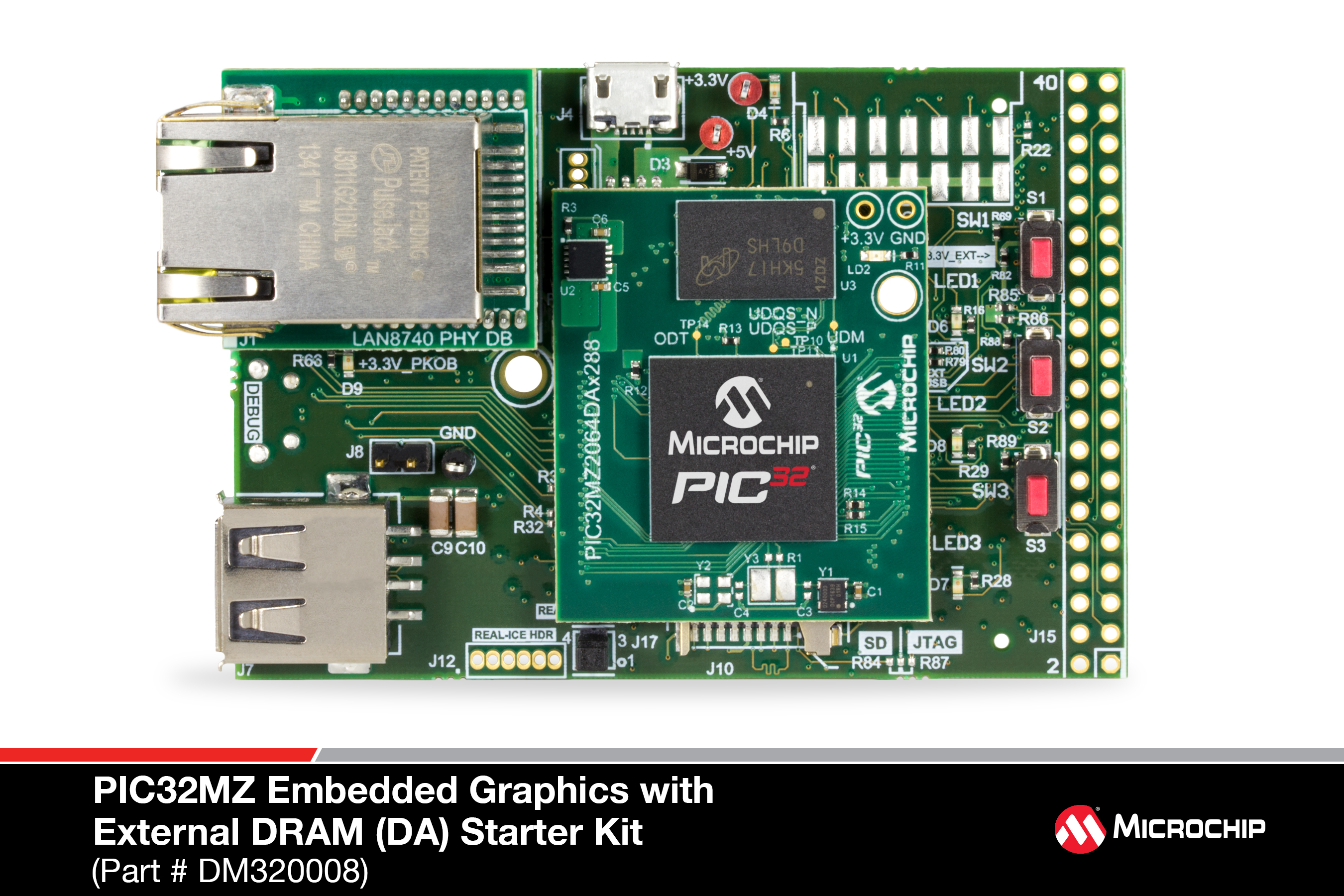 Dm320008 Pic32mz Embedded Graphics With External Dram