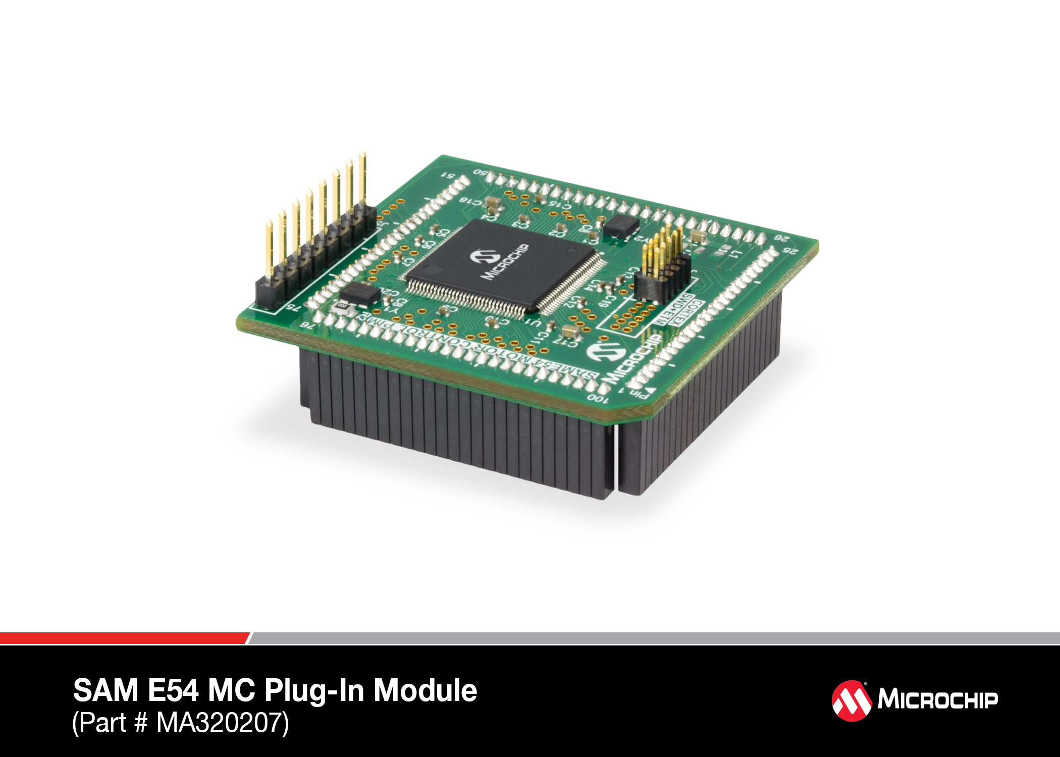 Development Tools Copyright Of This Circuit Belongs To Smart Kit Electronics In Plug Module Comes With A Atsame54 32 Bit Arm Cortex M4mcu Device It Can Be Used The Microchip Mchv 3 Dm330023 And Mclv 2 Dm330021