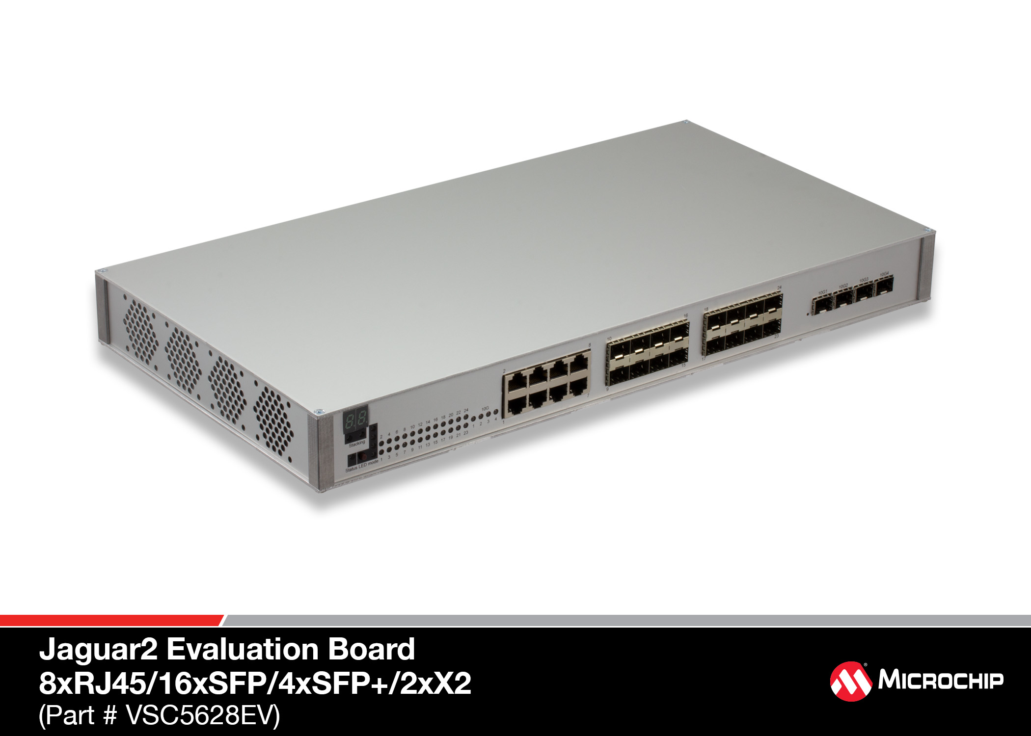 Development Tools Switches Use An Lcs Asc2 To Operate The Switch And Stm2 For Real Vsc5628ev Ethernet System Can Be Used Demonstrate Jaguar 2 Vsc7464 68 Sparx Iv Vsc7442 44 48