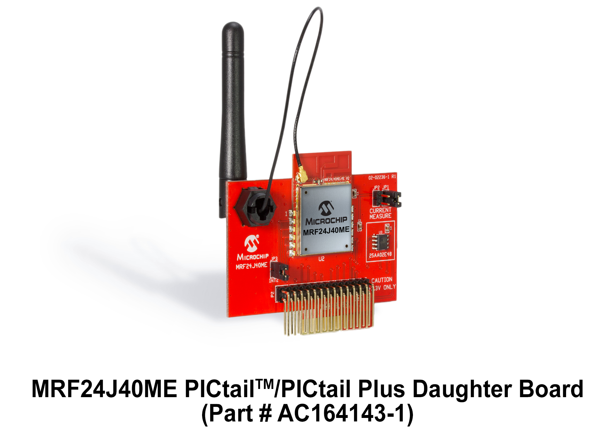MRF24J40ME PICtail/PICtail Plus Daughter Board AC164143-1