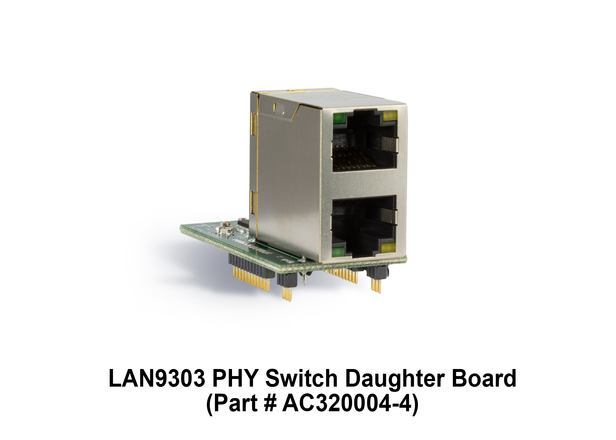 Development Tools 4 Way Rj45 Switch Box Part Number Ac320004