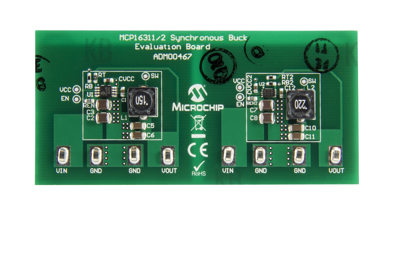 Development Tools Inductor Requirements For Dc Converters And Filters In Automotive The Mcp16311 2 Synchronous Buck Converter Evaluation Board Is Used To Evaluate Demonstrate Microchip Technologys Product