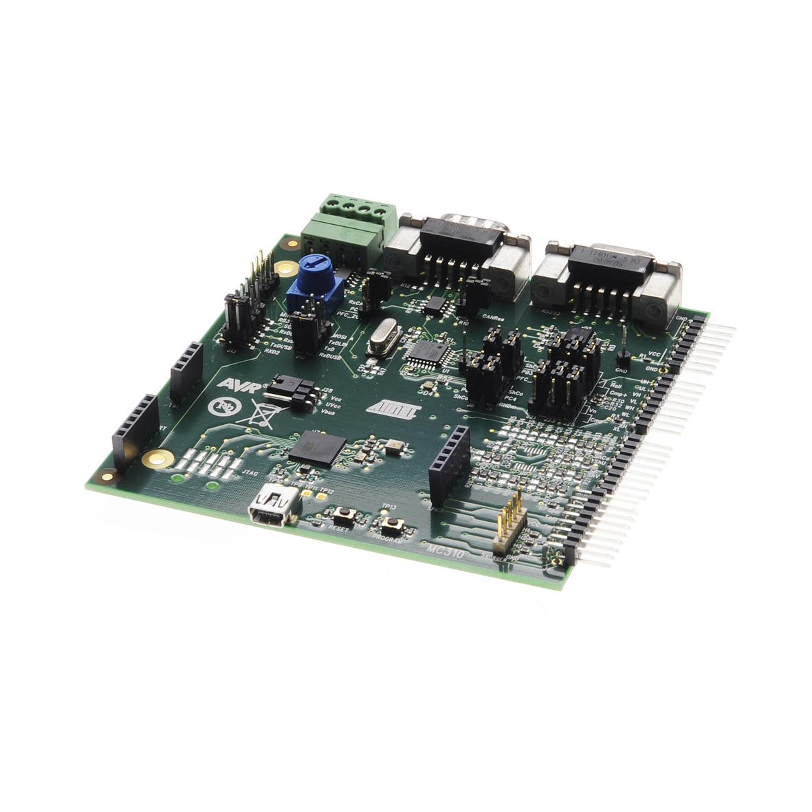 Development Tools Evas Are Extensive Printedcircuit Board Pcb Networks That Contain Part Number Atavrmc310
