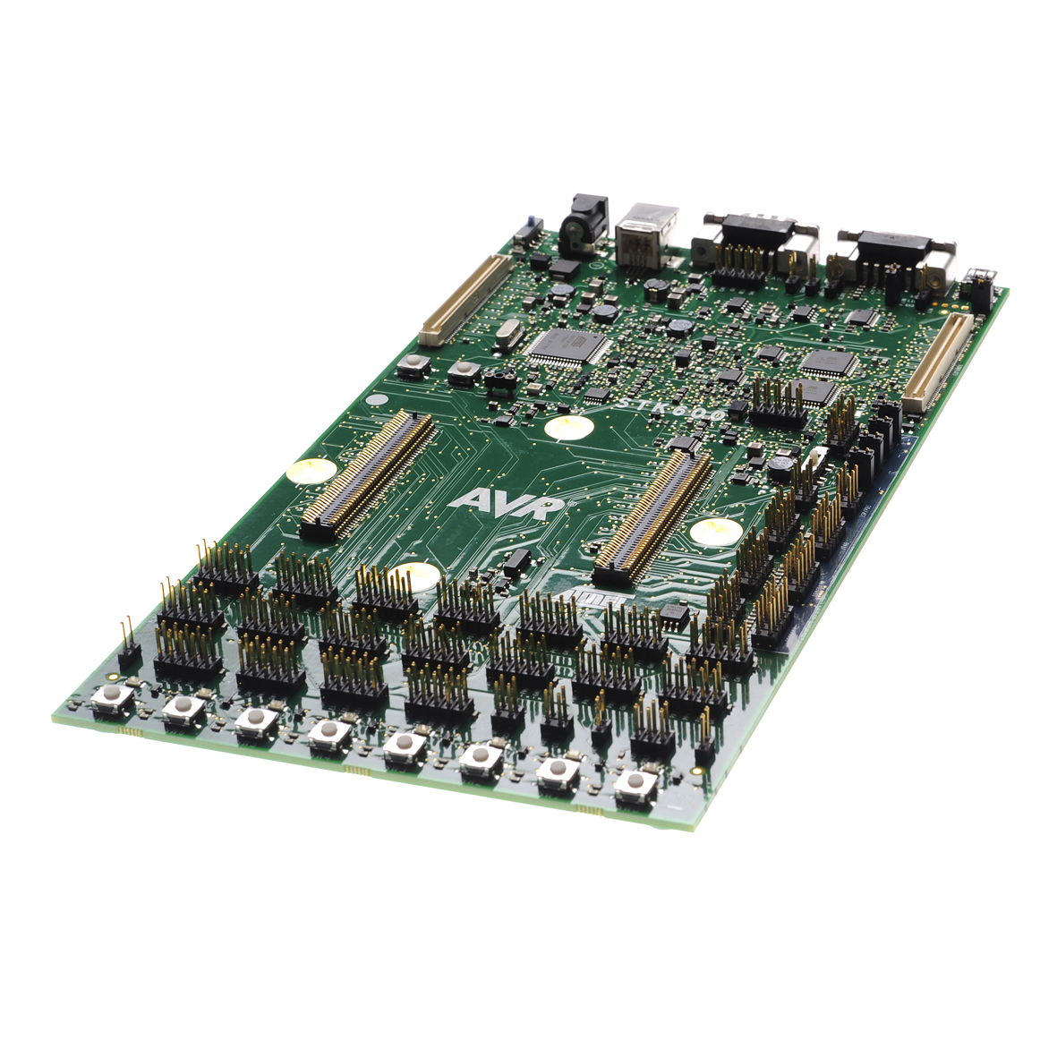 Development Tools The Hardware Is Implemented By Using A Avr Atmega88 Microcontroller Part Number Atstk600 Dip40