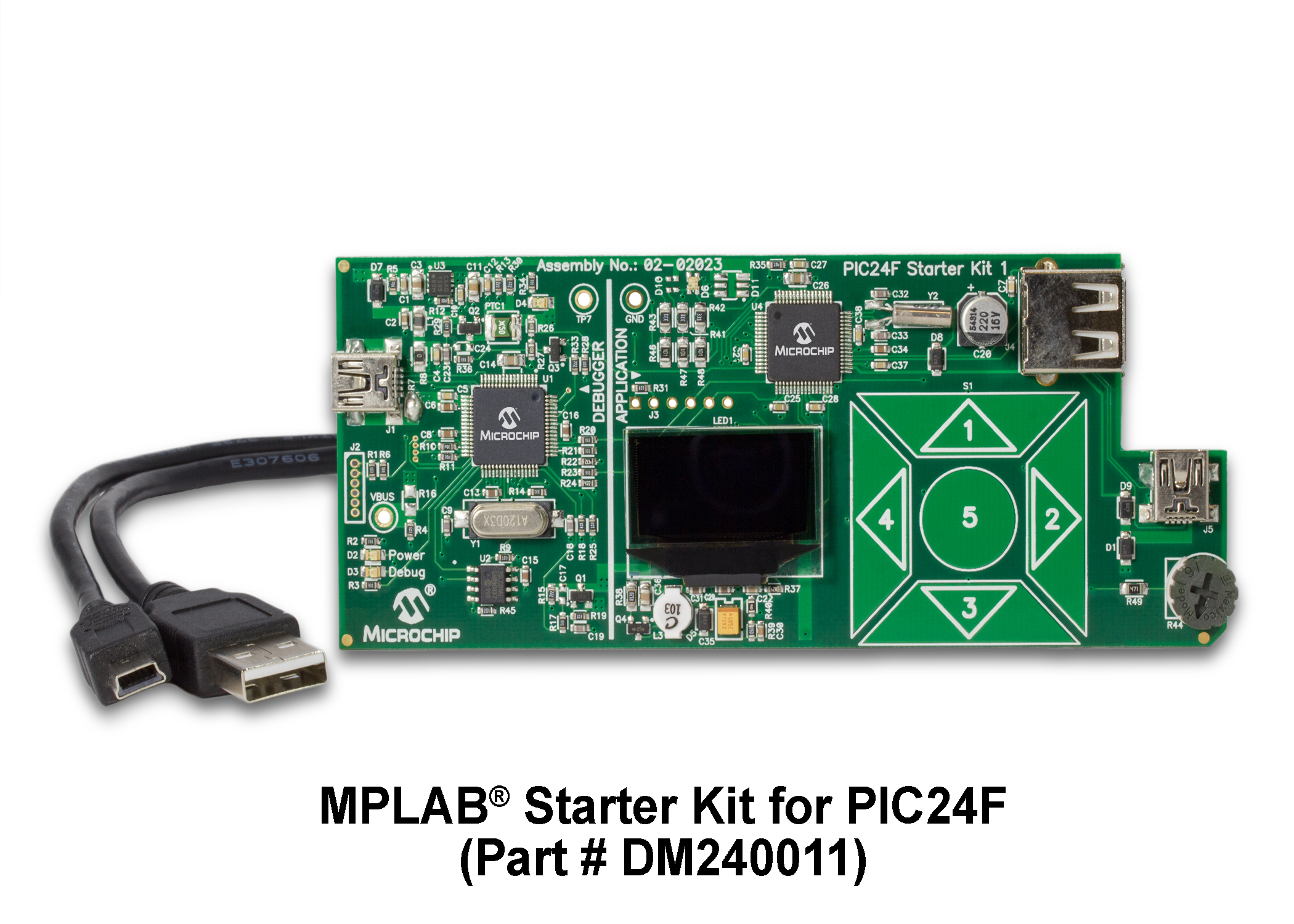 MPLAB Starter Kit for PIC24F MCUs DM240011