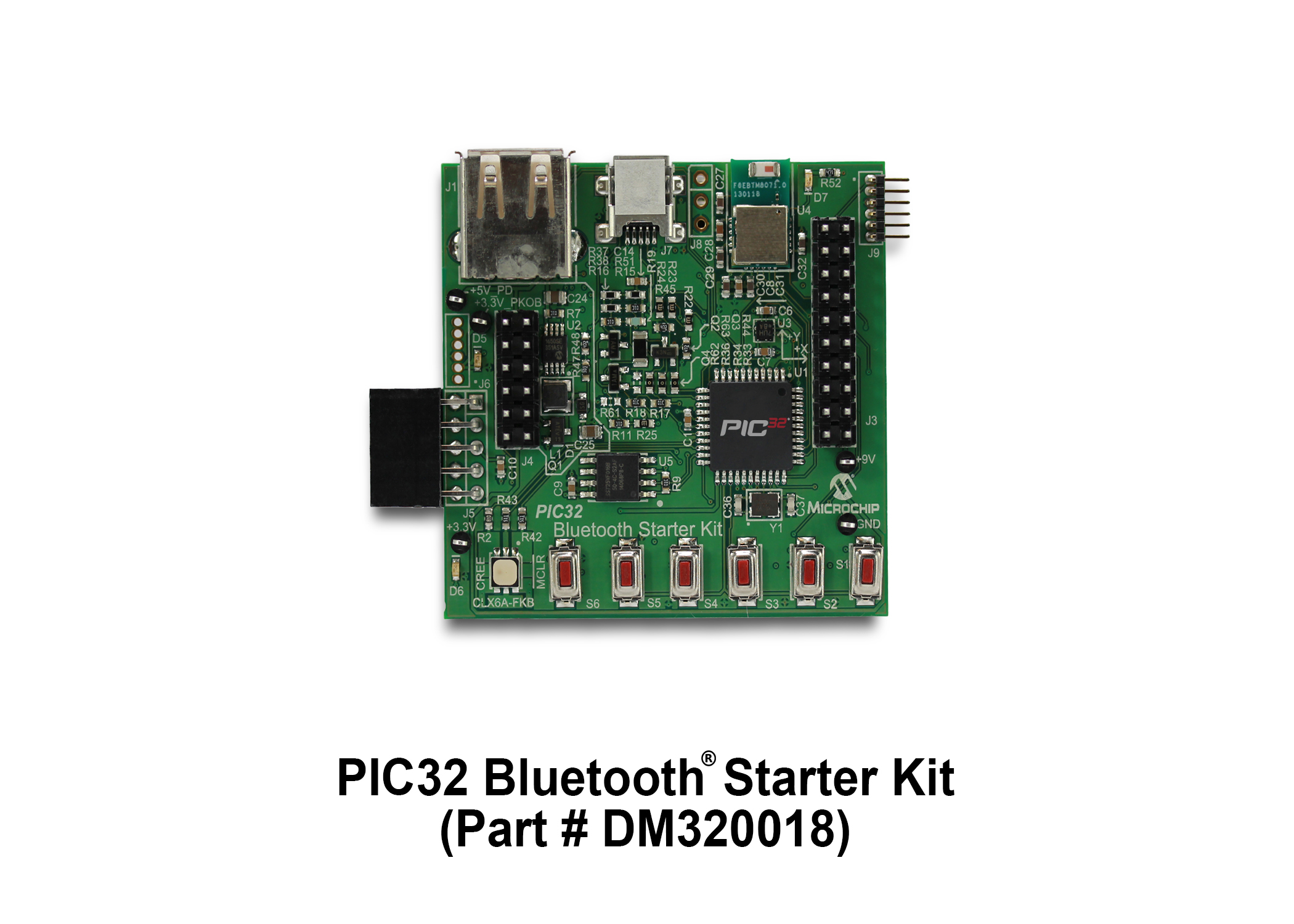 PIC32 Bluetooth Starter Kit DM320018
