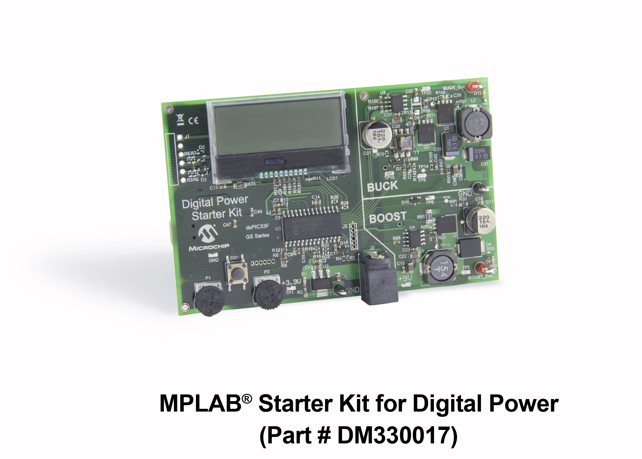 Development Tools Dsc Gs Boost Wiring Diagram The Mplab Starter Kit For Digital Power Allows User To Easily Explore Capabilities And Features Of Dspic33f Conversion Family