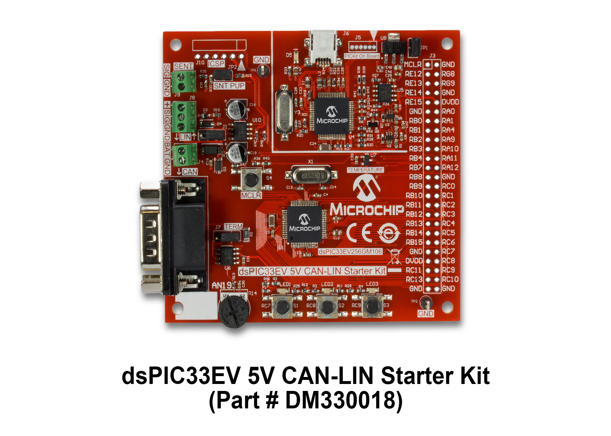 Development Tools Egrated Circuit Type 747 Accommodates Two Operational Amplifiers Part Number Dm330018