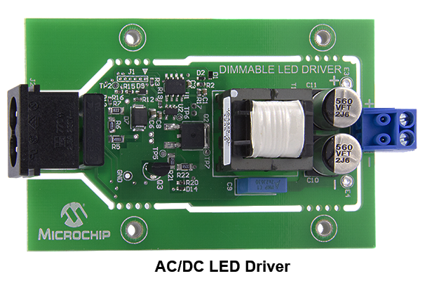 Pic12f752 Ac Dc Led Driver Proof Of Concept Pic12f752