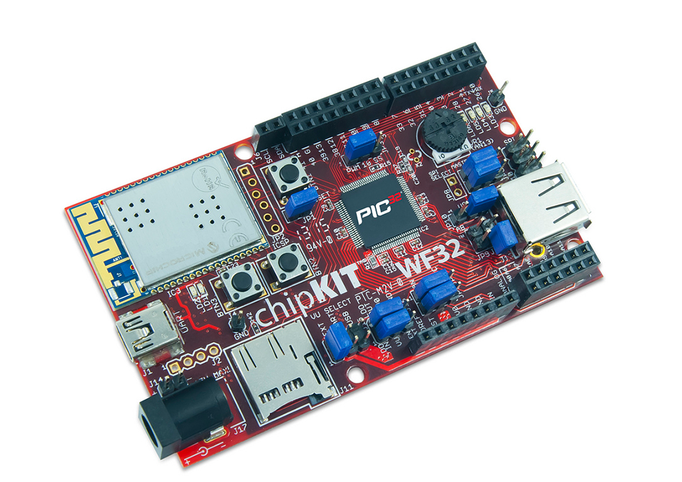 TDGL021 - chipKIT WF32 WiFi Development Board TDGL021