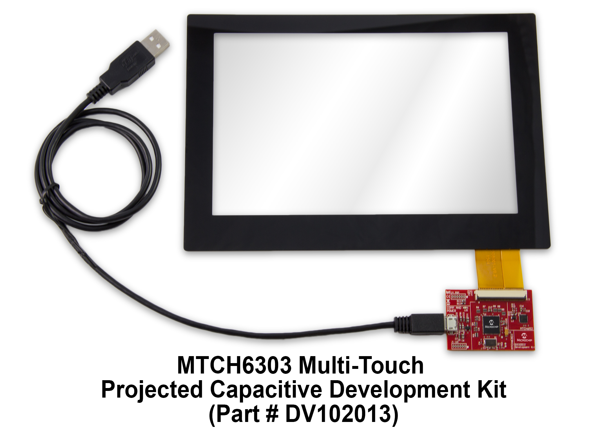 Touch Screen Kit : Mtch multi touch projected capacitive screen