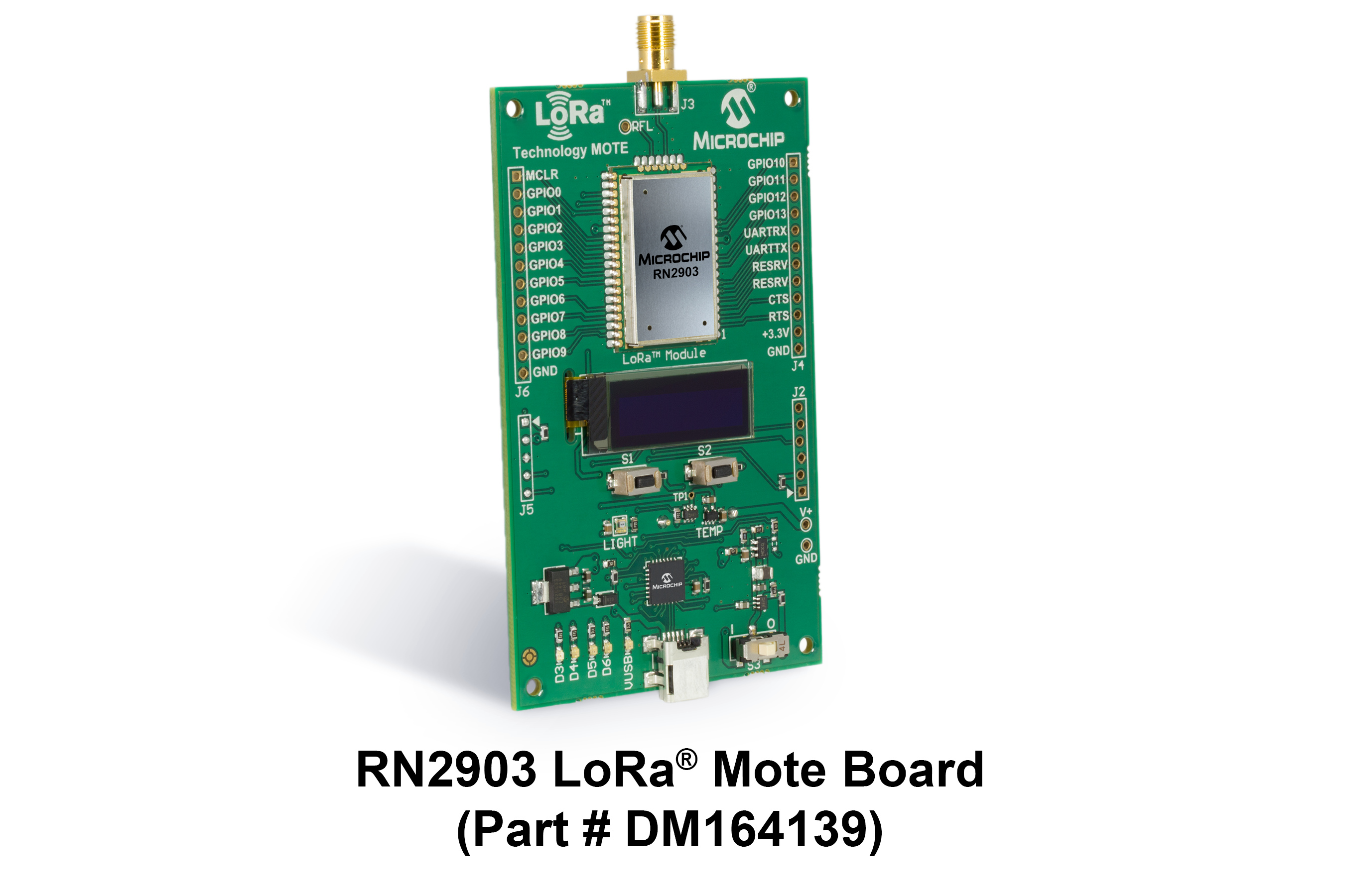 Development Tools Rf Module Only Circuit Diagram For Convenience As A Standalone Battery Powered Node The Mote Provides Convenient Platform To Quickly Demonstrate Long Range