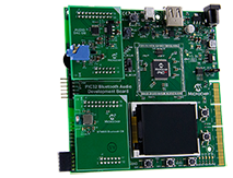PIC32 Bluetooth and USB Audio Development Board