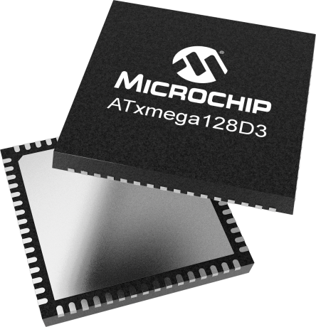 atxmega128d3 - microcontrollers and processors, Wiring schematic