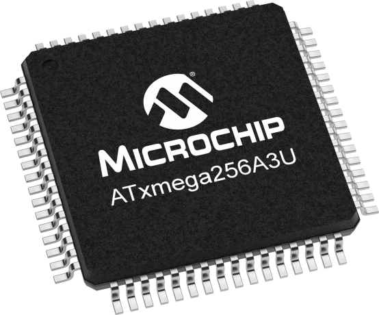 atxmegaau  microcontrollers and processors, schematic