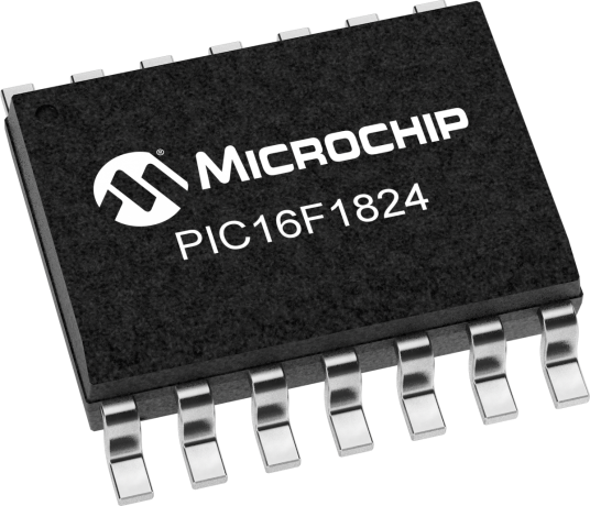 PIC16F1824 - Microcontrollers and Processors