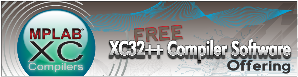 MPLAB® XC32++ Compiler Software Offer