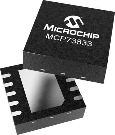 Lithium-Polymer Battery Charge Controlle Microchip MCP73833-FCI//UN Lithium-Ion