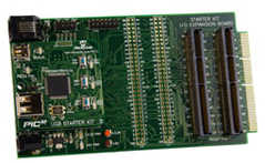 PIC32 Accessory Development Kit for Android™ (DM320412)