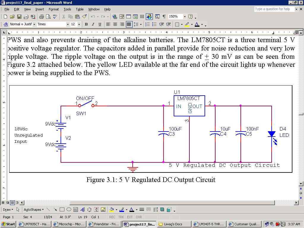 Difference Between Lm7805ct And Lm340t 5 As Voltage Regulators Volt Regulator Circuit Using 7805 Ic Attached Images