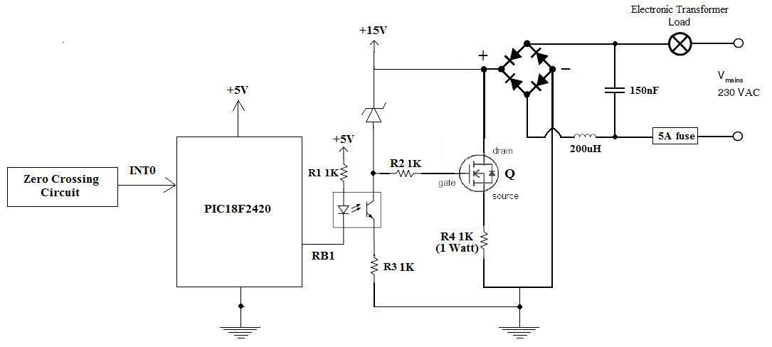 Reverse Phase Dimmer Microchip