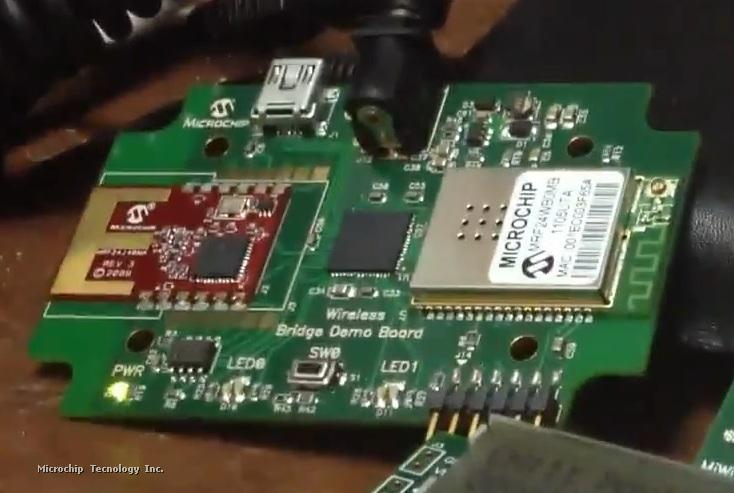 Microchip Bridges WiFi and MiWi