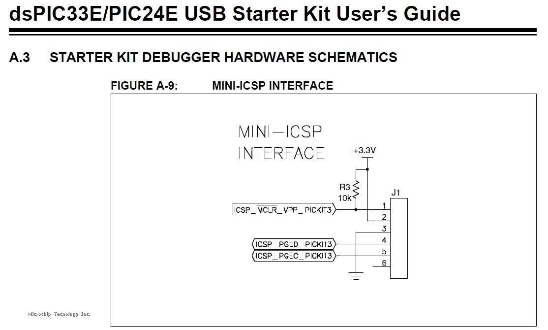Has anyone used a PICKit3 to program a d33EP512MU810?? on