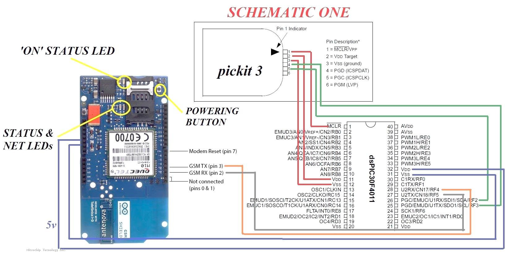Gsm Modem Interface With 8051 Microcontroller Arduino Shield Sms Text Mode Problem Microchip Attached Images