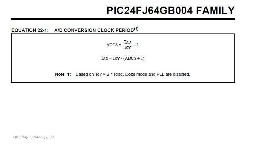 Adcs Calculation In Adc With Pll Microchip