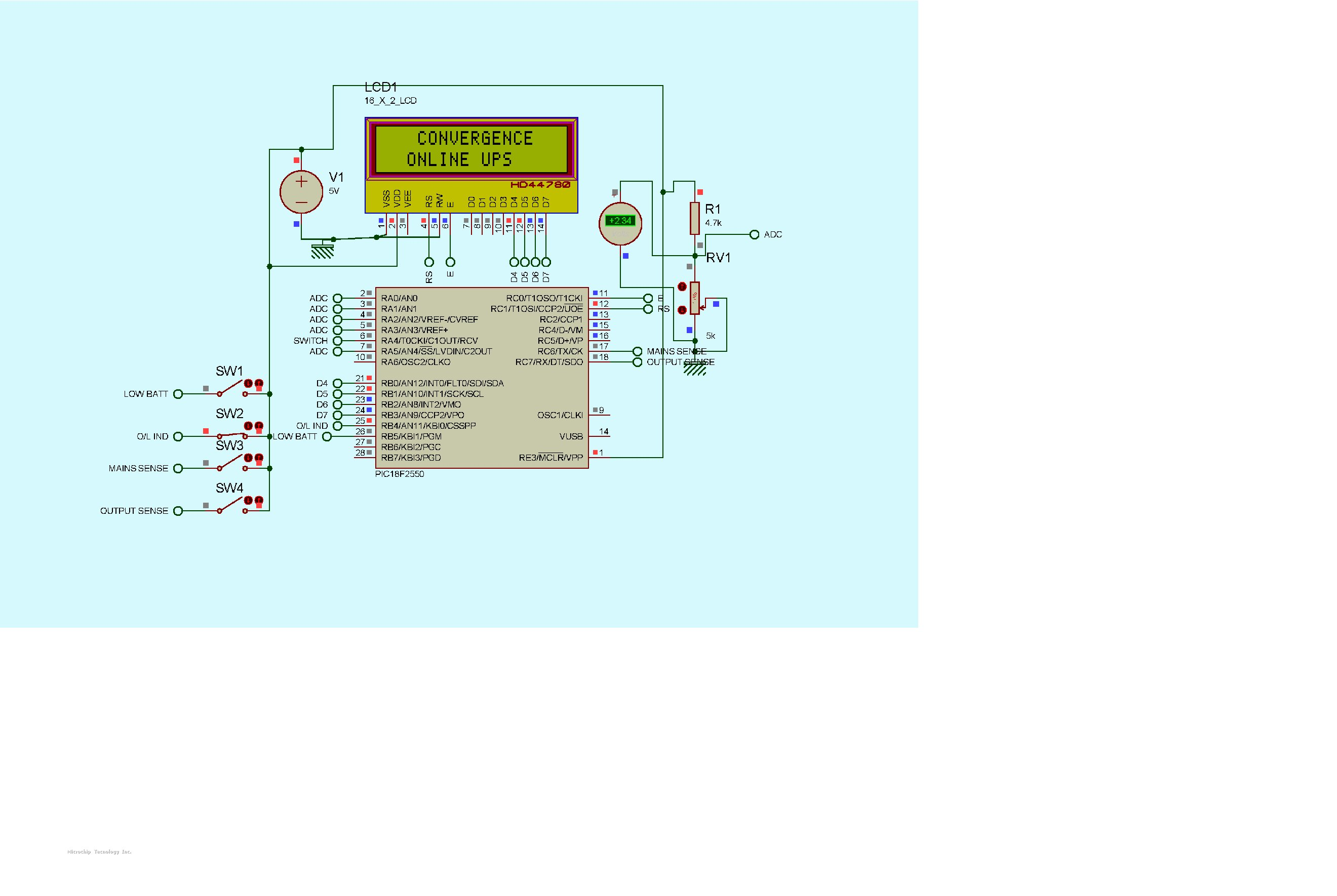 Lcd Is Showing Black Boxes In First Row 16x2 Jhd162a Parallel Port Pic Programmer For Pic18f2550 Interfaced With