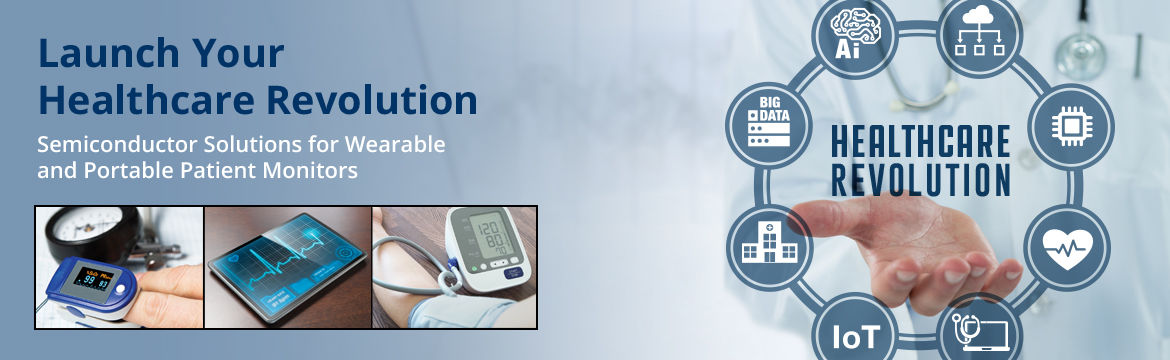 Semiconductor Solutions for Wearable Patient Monitors