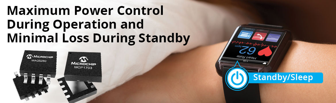 Maximum Power Control During Operation and Minimal Loss during Standby
