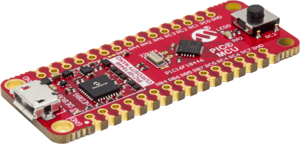 MPIC16F18446 Curiosity Nano Evaluation Kit (DM164144)