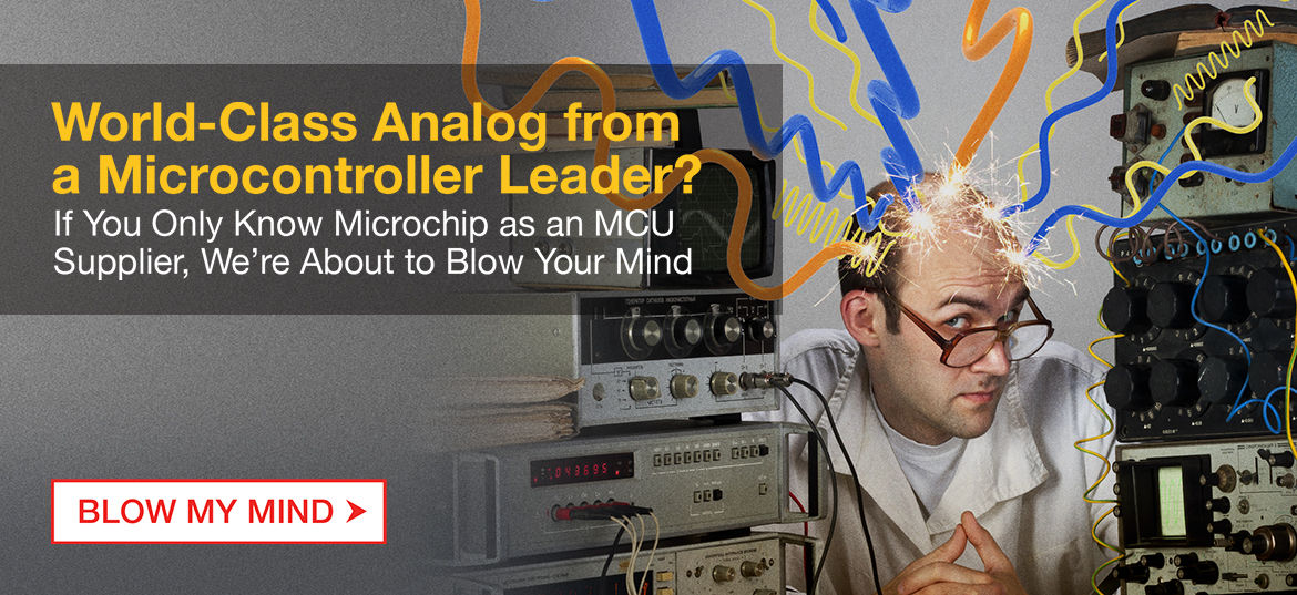 Real World Class Analog - World Class Analog from a Microcontroller Leader?