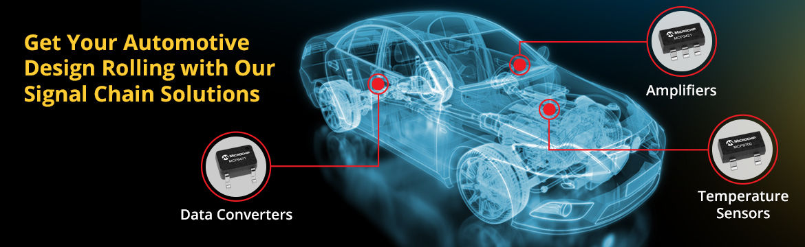 Get Your Automotive Design Rolling with Our Signal Chain Solutions