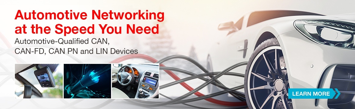 Automotive CAN and LIN - Automotive Networking at the Speed You Need