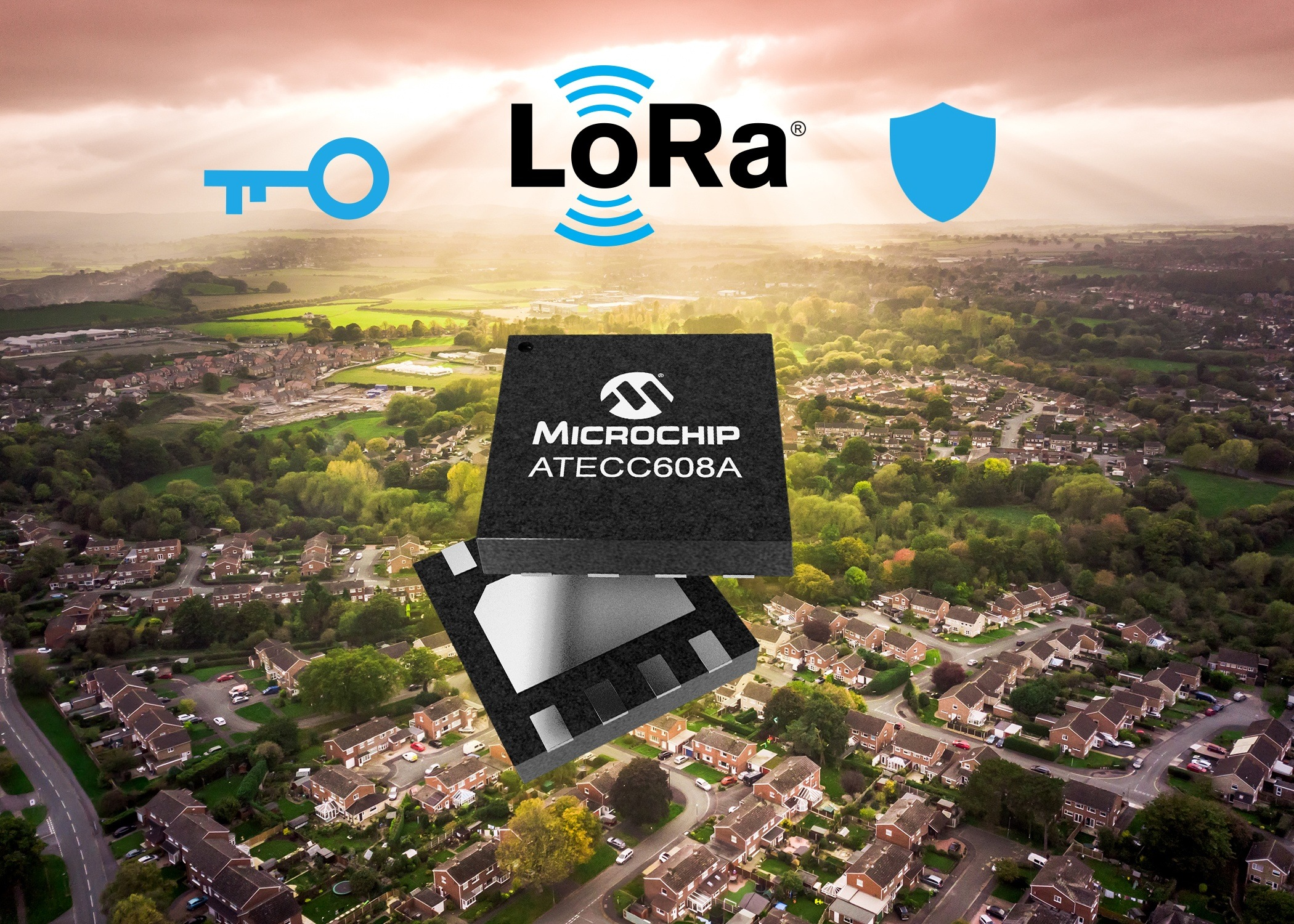 Industry's First End-to-End LoRa® Security Solution