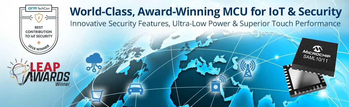 SAM L11 - World-Class, Award-Winning MCU for IoT & Security