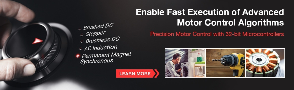 Enable Fast Execution of Advanced Motor Control Algorithms