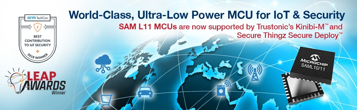 World-Class, Ultra-Low-Power MCU for IoT & Security