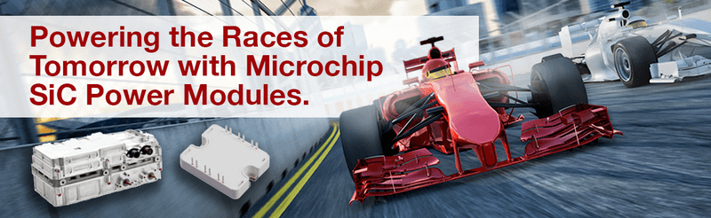 Power the Races of Tomorrow with Microhip SiC Power Modules.