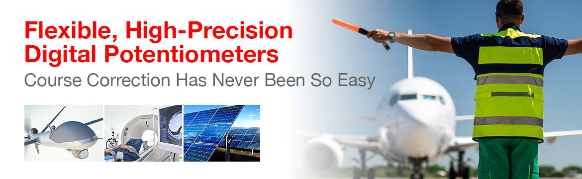 Flexible High Precision Digital Potentiometers