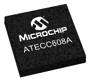 ATECC608A UDFN chip shot