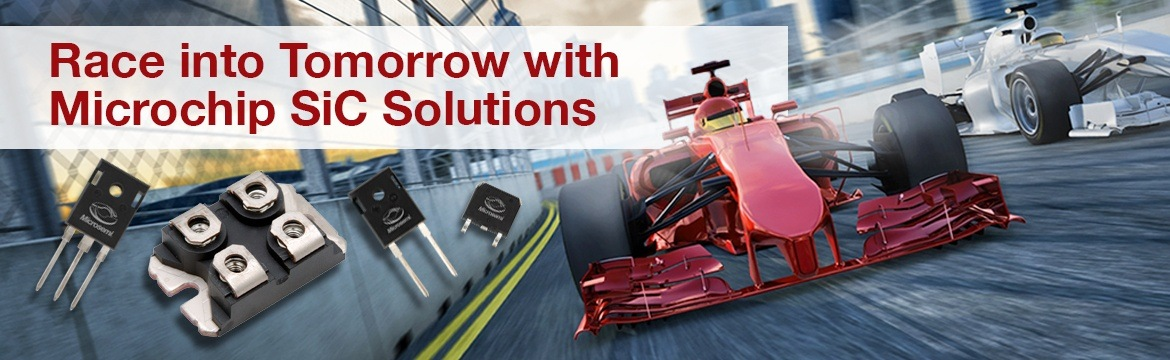 Race into Tomorrow with Microchip SiC Solutions