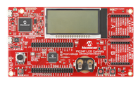 PIC24F LCD and USB Curiosity Board