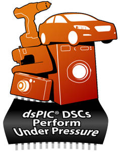 dsPIC DSCs Perform Under Pressure