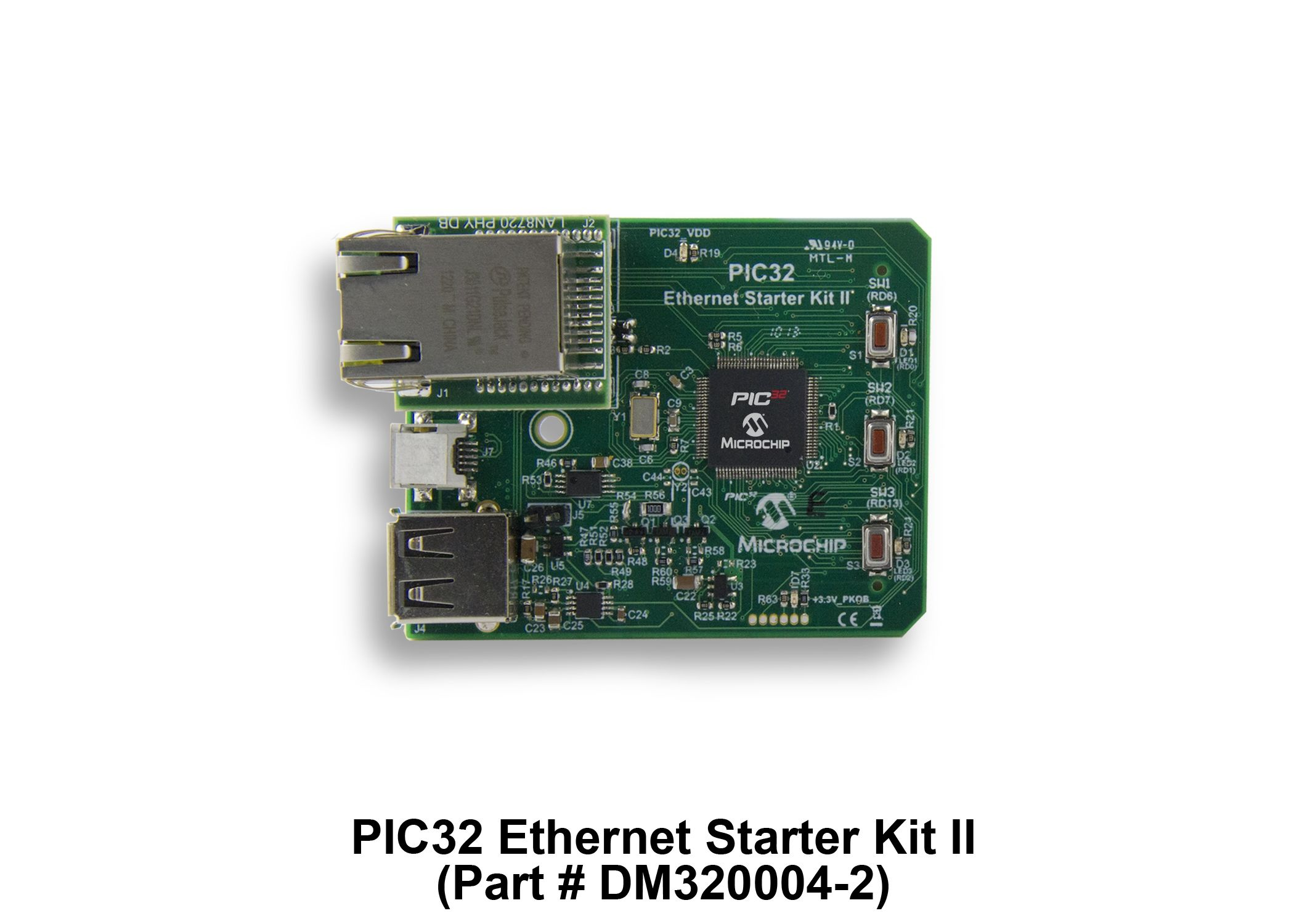 architecture 32 bit pic microcontrollers microchip technologypic32 ethernet starter kit ii